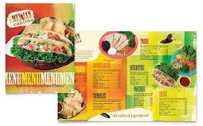 mexican food menu design. Unique Menu Throughout Mexican Food Menu Design X