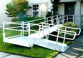 furniture concrete wheelchair ramp wooden plans wood design handicap construction specifications