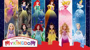 Đồ chơi búp bê Công chúa Disney - YouTube