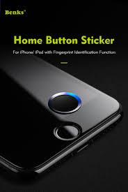 iphone home button. benks fingerprint home button sticker touch sensor for ipad iphone 7 plus/7/6s iphone a