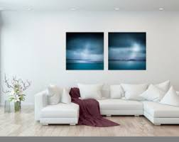 diptych blue abstract two print set home decor canvas large set of two wall art living room living room decor extra large wall art on extra large living room wall art with extra large wall art abstract fine art set of 3 wall art