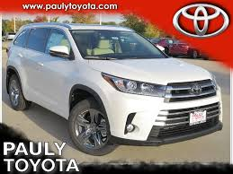 New 2018 Toyota Highlander Limited Platinum 4D Sport Utility in ...