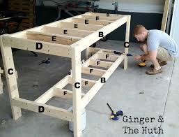 Workbench Construction Garage Plans Free Pdf Diy Plansgarage 52