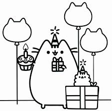 Pusheen The Cat Coloring Pages New 147 Best Color Sheets For Kids