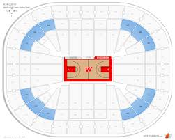 Clean Kohl Center Seating Map 2019