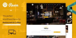 Wp Restaurant Themes Download Free Resca V2 0 8 Wordpress Restaurant Theme