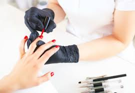 manicure pedicure package options for sns nails or gel nails