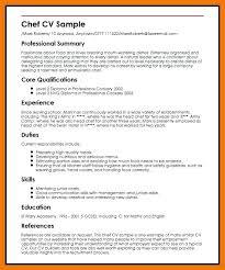 Chef Sample Resume Sample Resume Chef Chef Sample 40 40 Sample Resume Fascinating Sample Resume For Sous Chef