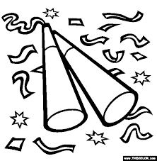 Small Picture New Year Eve Online Coloring Pages