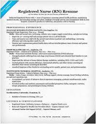 registered nurse resume sample. Sample Registered Nurse Resume New Grad Rn Resume Sample