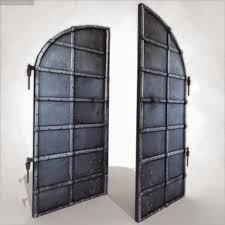 old bat door 3d model