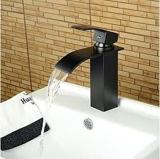 oil rubbed bronze bathroom faucet clearance. contemporary waterfall oil-rubbed bronze bathroom basin faucet -black oil rubbed clearance r