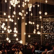 simple post modern crystal glass ball chandelier art regarding modern household glass ball chandelier ideas