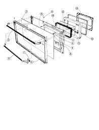 88370 range oven door see thru black glass parts diagram