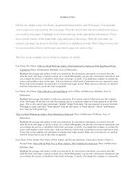 Best Photos Of Apa Bibliography Format Example Page Of An