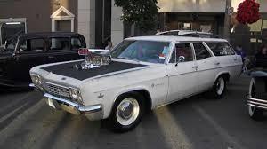 1966 Impala wagon chevy blown 454 - YouTube