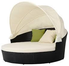 day bed outdoor patio furniture retractable