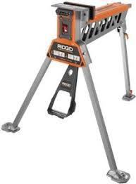 ridgid miter saw table. image is loading powerful-ridgid-super-clamp-securing-wide-materials-job- ridgid miter saw table
