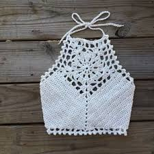 Free Crochet Halter Top Pattern Interesting Halter Top Crochet Pattern Free Crochet Halter Top Boutique SGMUMJU