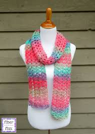Free Scarf Patterns Beauteous Fiber Flux Free Crochet PatternIsland Lace Scarf