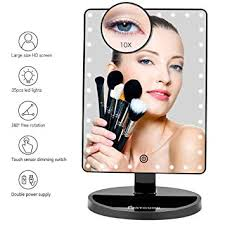 D Large Lighted Vanity Makeup Mirror XLarge Model Funtouch Light Up