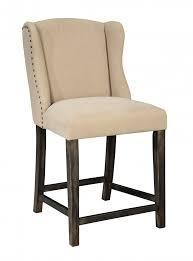 beige bar stools. Moriann - Light Beige Upholstered Barstool (Set Of 2) Bar Stools T