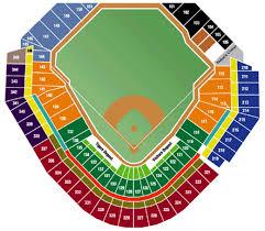 Seating Chart Comerica Park Detroit Mi Comerica Park Seating Chart Detroit Tigers Opening Day