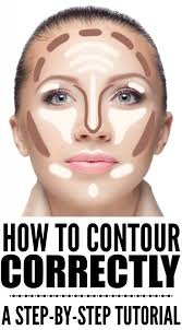 how to contour your face correctly a