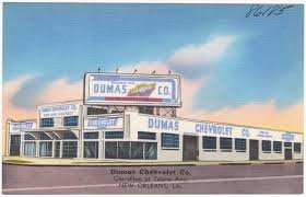 Dumas Chevrolet Co Carrollton At Tulane Ave New Orleans La Digital Commonwealth