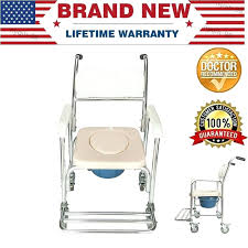 Marvellous Bucket Chair On Wheels Commode Aluminum Alloy