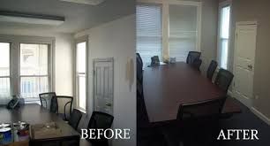 office make over. Before After 2 Office Make Over