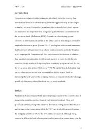global relationship marketing essay