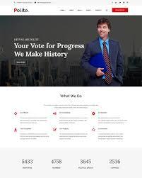 Political Website Templates 40 Best Political Website Templates 2019 Freshdesignweb