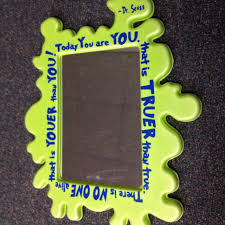 Dr. Seuss kids mirror. Totally kid safe. Mirror from IKEA, vinyl quote