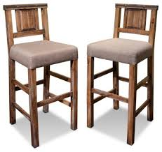 bar chairs with backs. Best Oak Bar Stool With Back Rustic Reclaimed Solid Wood Counter High Chair Chairs Backs C