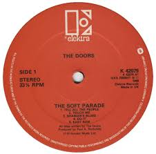THE DOORS THE SOFT PARADE RED LABEL b