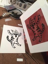 DIY screen <b>printing</b> on the cheap! Here's a <b>strange</b> dancing cat ...
