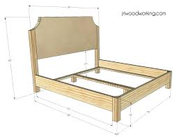 Wood Queen Size Bed Frames For Sale Frame Dimensions