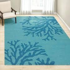 teal blue area rug cool