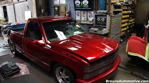 88 supercharged Chevrolet pickup dyno run - YouTube