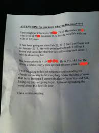 A Husband S Passive Aggressive Note To His Neighbors About His