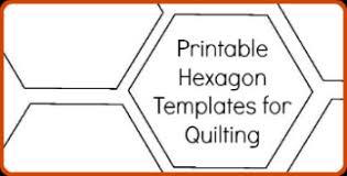 Hexagon Quilt Pattern 20 Designs and Ideasto Sew Your Next Hexie Quilt & hexagontemplates Adamdwight.com