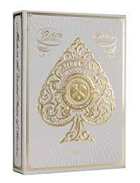 White Artisan Playing Cards By <b>Theory11</b> (<b>1 Deck</b>): Amazon.co.uk ...