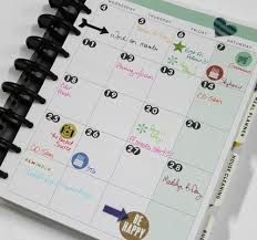 Create 365 The Happy Planner March monthly spread of mambi Design team  member Candi