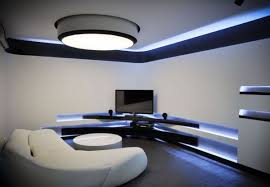 modern furniture and lighting. Ultra Modern Apartment Interior With Led Lighting Safehomefarm For Step How To Decor Home Furniture And T