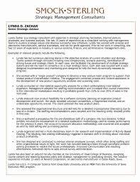 Sample Management Consultant Resume Consultant Resume Sample Unique Consultant Resume Sample Beautiful 31