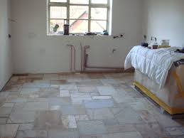Stone Floors For Kitchen Kitchen 3 New Wallsstone Floorplumbing Aga Bespoke Kitchen