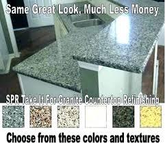 refinishing countertop before after tile resurface refinishing countertops