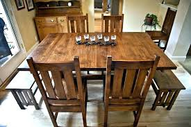 mission style dining set mission style dining room sets mission style wood dining chairs