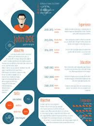 Cool New Modern Cv Resume Curriculum Vitae Template With Photo